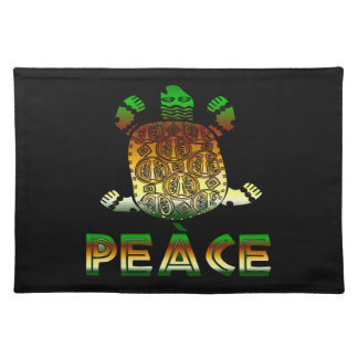 Peace Turtle Placemat