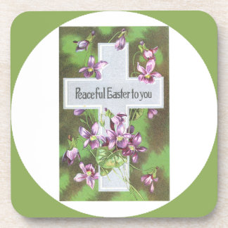 Peaceful Easter Custom Drink Coaster