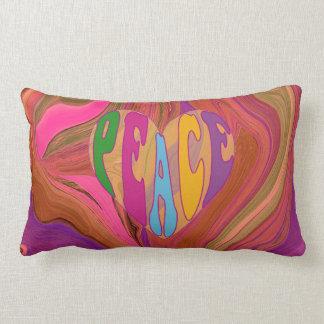 peaceful heart pillows