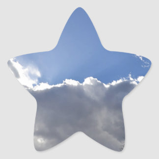 Peaceful Sky Star Sticker