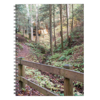 Peaceful Walking Trail Nature Path Notebook
