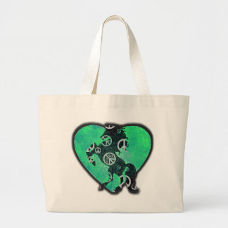 Peaceful Wild Horse! Large Tote Bag