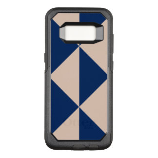 Peach Arrow Changeable Navy Blue Background Colour OtterBox Commuter Samsung Galaxy S8 Case