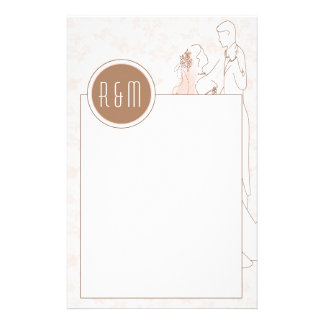 Peach Blossoms Stationery
