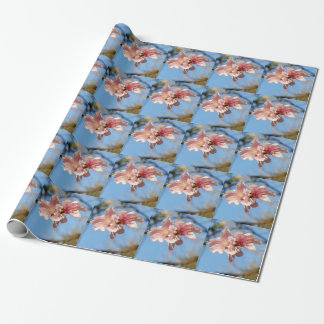 PEACH BLOSSOMS Wrapping Paper