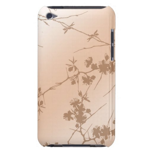 Peach Swirling Vines iPod Touch Case