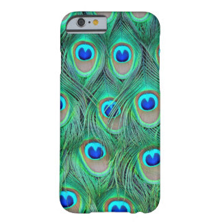 peacock animal - feathers barely there iPhone 6 case