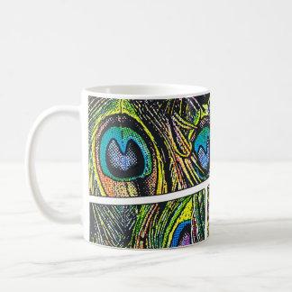 Peacock Cartoon - Coffee Mugs