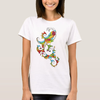 Peacock Colourful T-Shirt