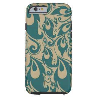 Peacock Feathers Tough iPhone 6 Case