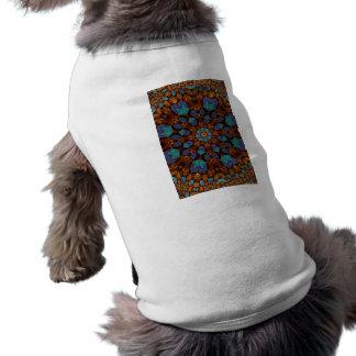 Peacock Fractal Art 6 Shirt