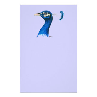 Peacock:  Indian Blue Stationery