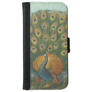 Peacock iPhone 6 Wallet Case