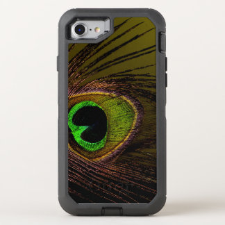 Peacock Peafowl Bird OtterBox Defender iPhone 8/7 Case
