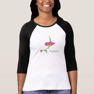 (Peacock Posture II) Women's 3/4 Sleeve Shirt