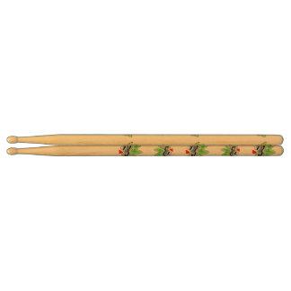 Peacock spider drumsticks