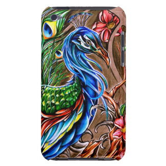 Peacock Summer Barely There iPod Cases