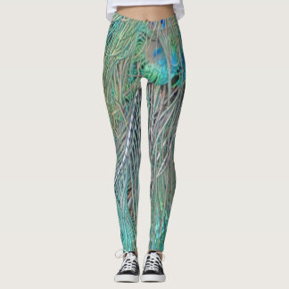 Peafowl Decadence Leggings