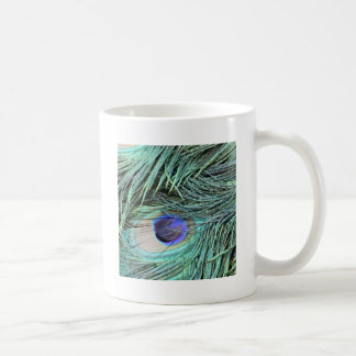 Peafowl Feather Eye Coffee Mug