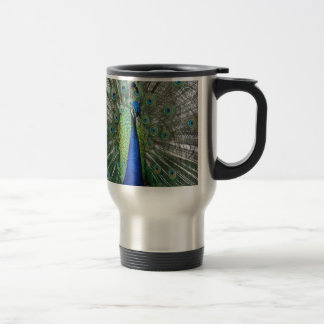 Peafowl Paradise Travel Mug