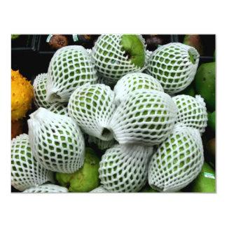 Pear Cactus 11 Cm X 14 Cm Invitation Card