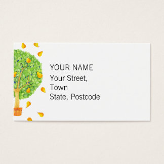 Pear Tree Business Card