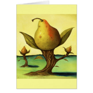 Pear Tree Greeting Cards