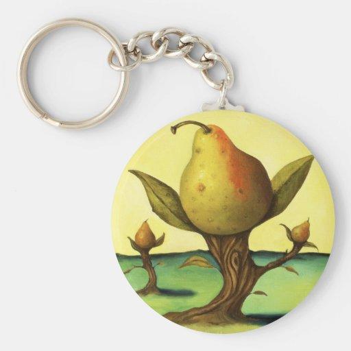 Pear Tree Keychain
