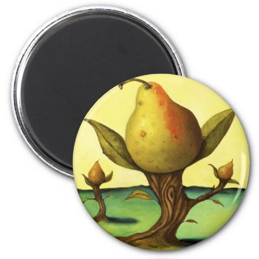 Pear Tree Magnets