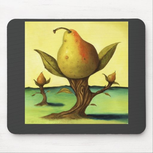 Pear Tree Mouse Pad