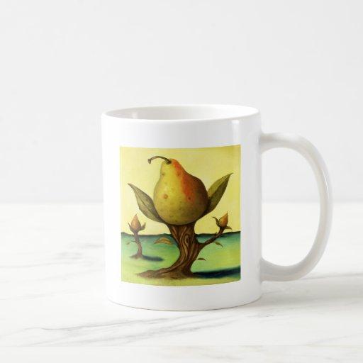 Pear Tree Coffee Mugs