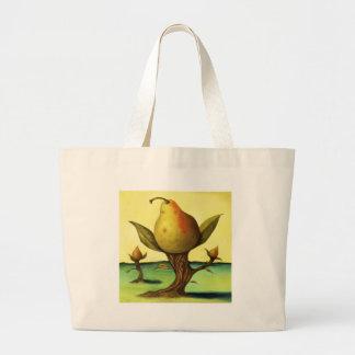 Pear Tree Tote Bags