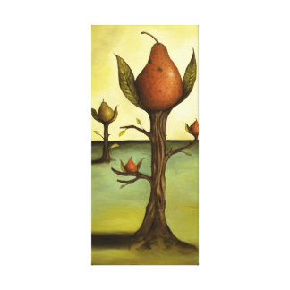 Pear Trees Gallery Wrap Canvas