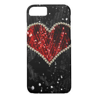Pearl Heart iPhone 7 Case