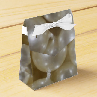 Pearl Printed Wedding Favor Boxes Custom