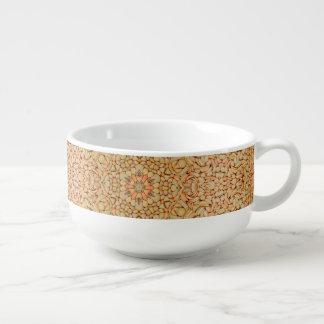 Pebbles Pattern  Soup Mug