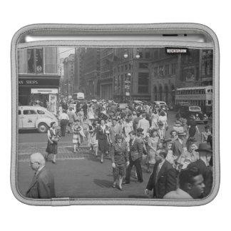Pedestrians iPad Sleeve