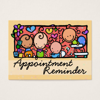Pediatrician. Midwife. Baby. Appointment Reminder
