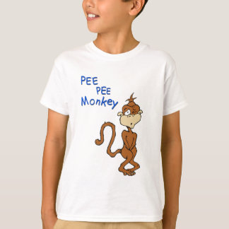 Pee Pee Monkey T-Shirt