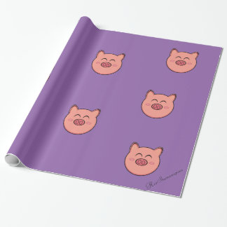 Peegy Glossy Wrapping Paper