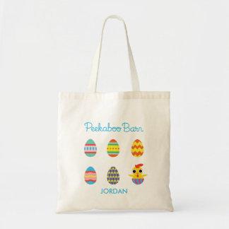 Peekaboo Barn Easter | Easter Eggs 2 Tote Bag