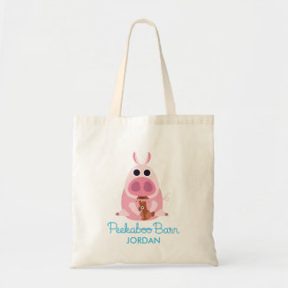 Peekaboo Barn Easter | Leary the Pig 2 Tote Bag