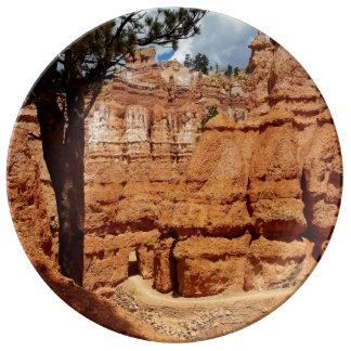 Peekaboo loop Bryce Canyon National park Utah Plate