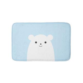 Peekaboo Polar Bear Bath Mat Bath Mats