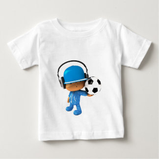 Peekaboo Superstar soccer edition Baby T-Shirt