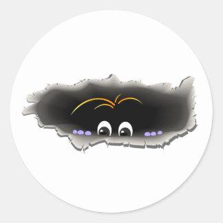 Peeking Creature Stickers