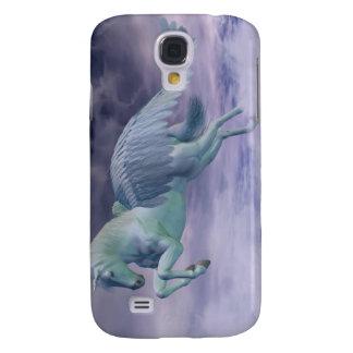 Pegasus Galloping through Storm Clouds Galaxy S4 Case