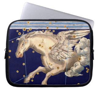 Pegasus Mythology Astronomy Map Art Laptop Sleeve