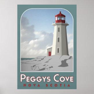 Peggy's Cove Deco Poster