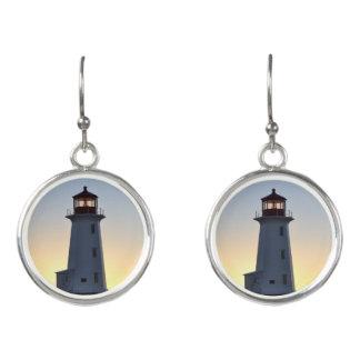 Peggy's Cove  Lighthouse Earrings Nova Scotia